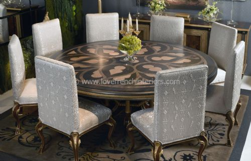 Luxury Round Dining Set